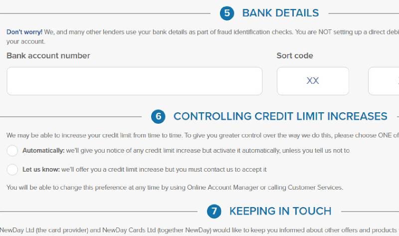 aqua card credit limit increase