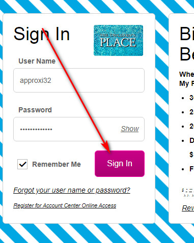 How to manage Children's Place store card online