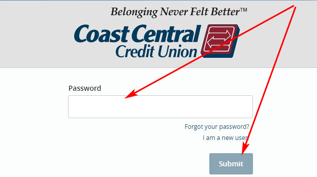 Coast Central Credit Union internet banking