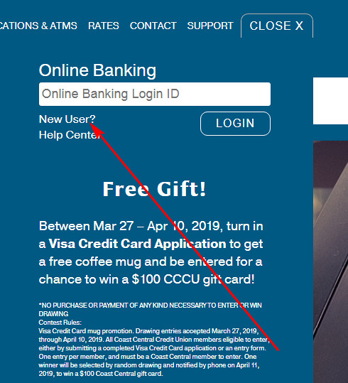 coast central credit union online