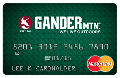 Gander Mountain Credit Card review