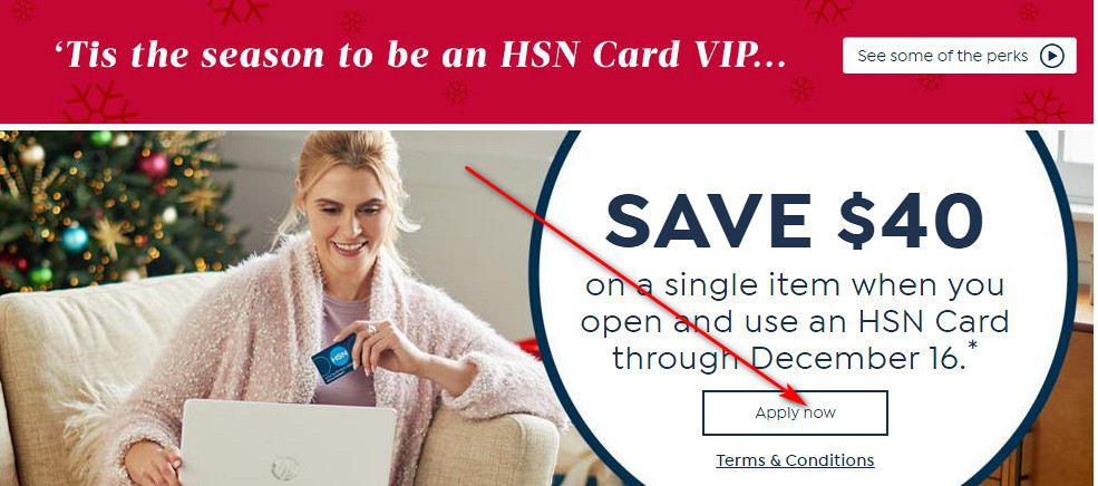 Apply for HSN Credit Card
