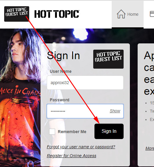 hot topic credit card pay
