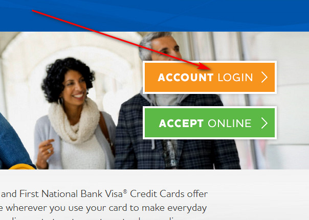 legacy credit card login
