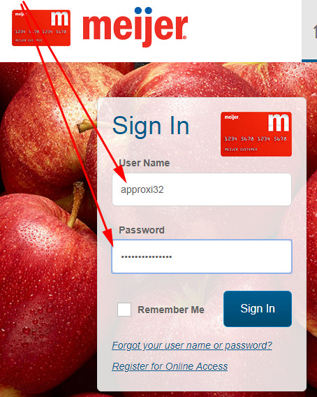meijer credit card payment