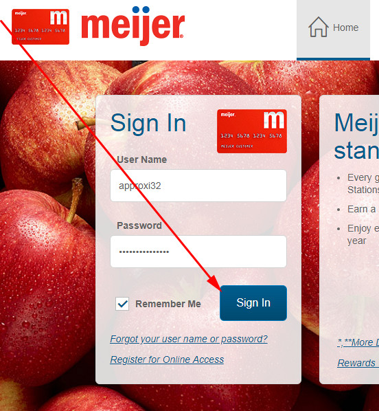 meijer credit card mastercard