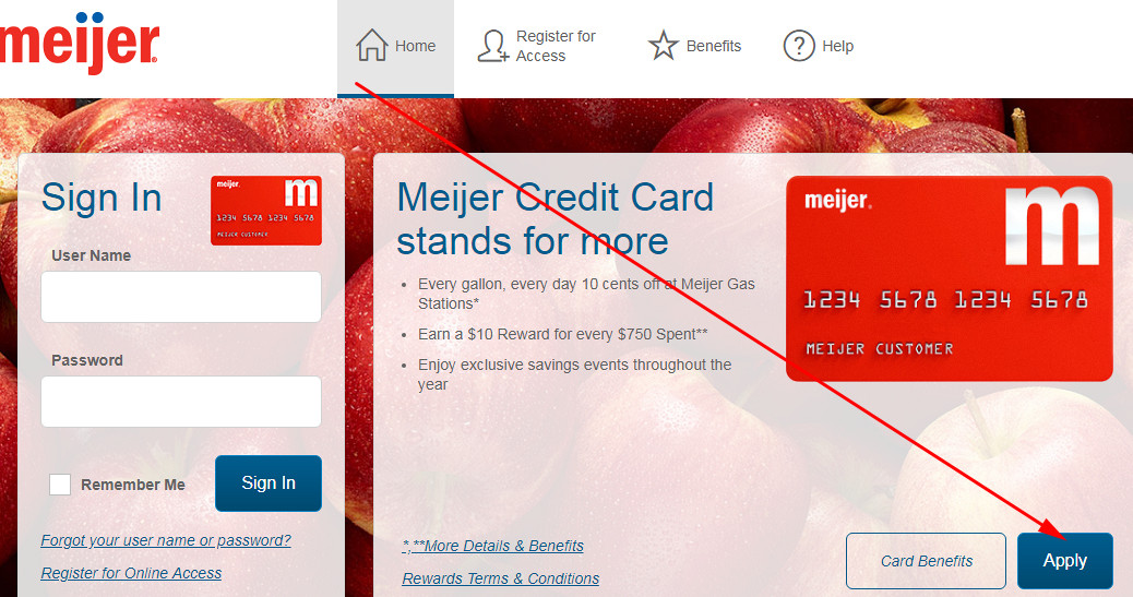 meijer mastercard credit card review
