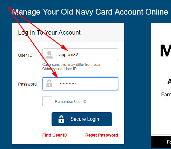 apply for old navy store card