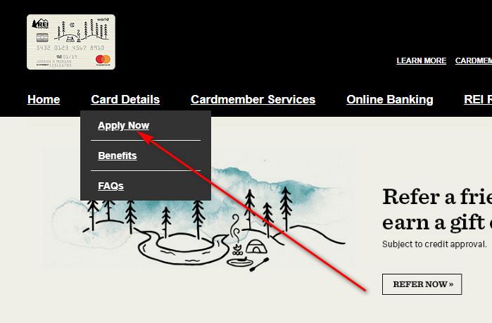 rei credit card benefits