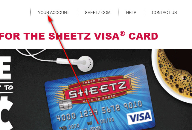 Sheetz Visa store card