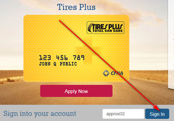 Tires Plus credit card payment