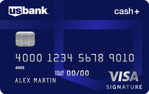 US Bank Cash+ Visa Card