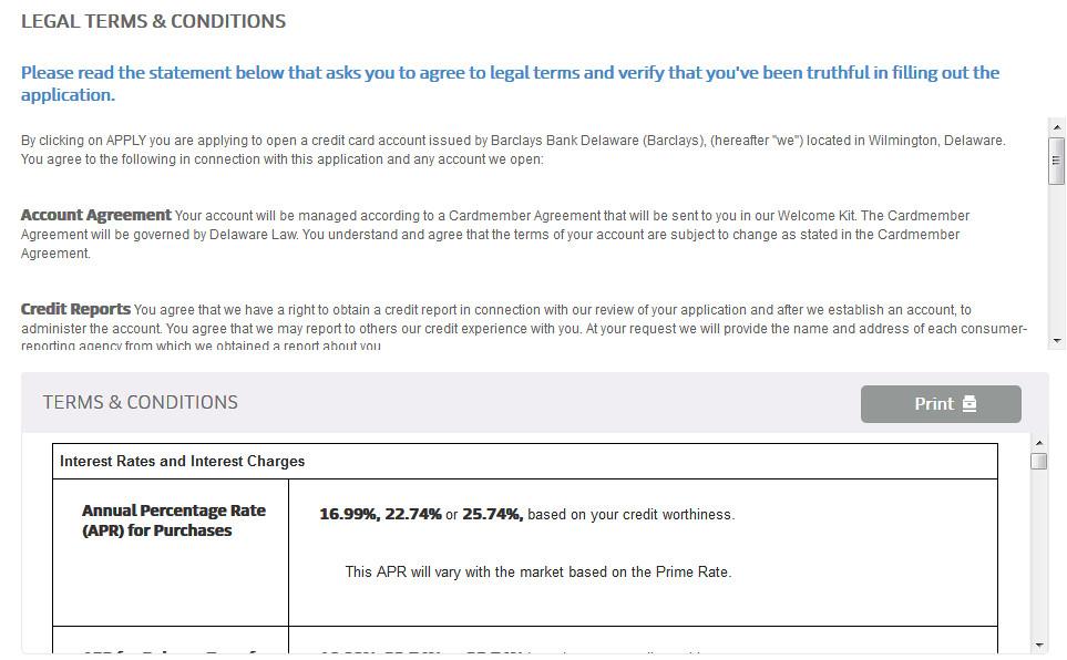 uber visa card credit score