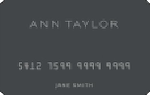 Ann Taylor Store Credit Card