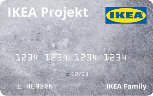 IKEA Project Credit Card