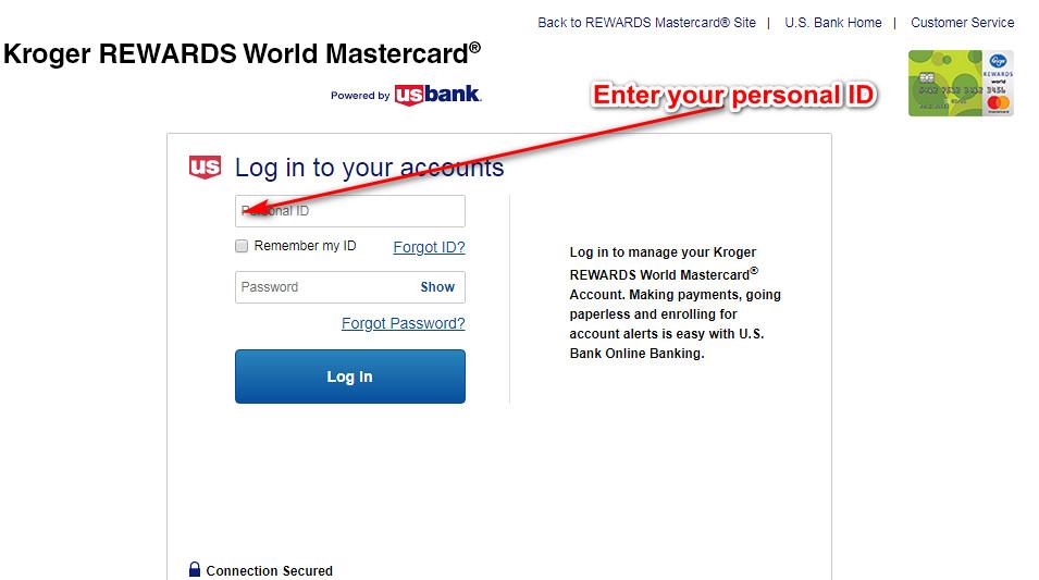 kroger rewards credit card